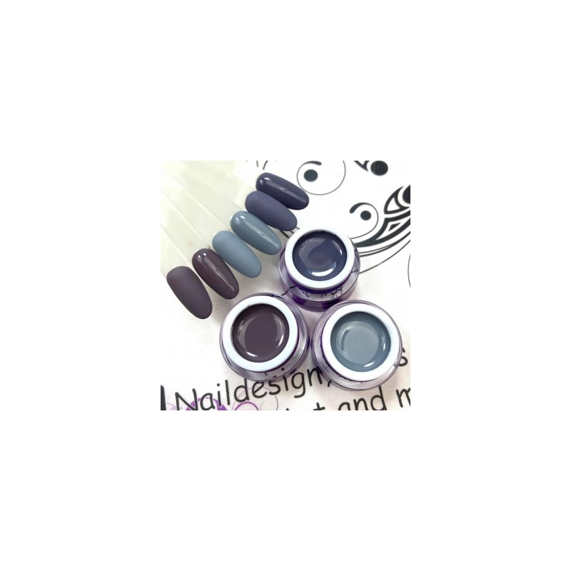 004 UV Gel Color Semilac Classic Nude 5ml